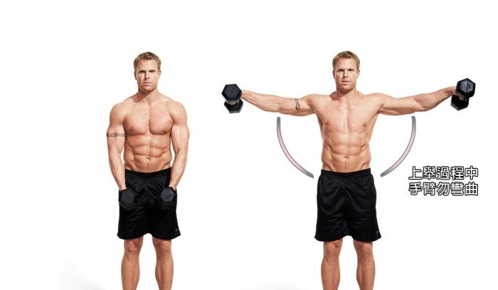 手肘勿彎曲/盔甲線/三角肌訓練/肩膀訓練/Xuan瘋運動教室