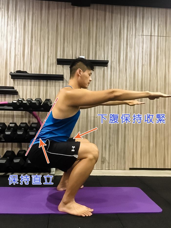 Xuan瘋運動教室/運動腰痠背痛/脊椎保健/下背痛/運動腰痠/深蹲