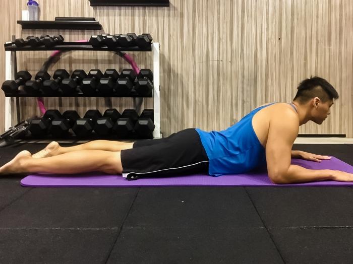 Xuan瘋運動教室/運動腰痠背痛/脊椎保健/下背痛/運動腰痠/眼鏡蛇式